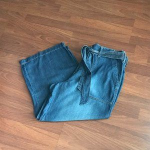Paperbag Style Wide Leg Jeans by Seven7